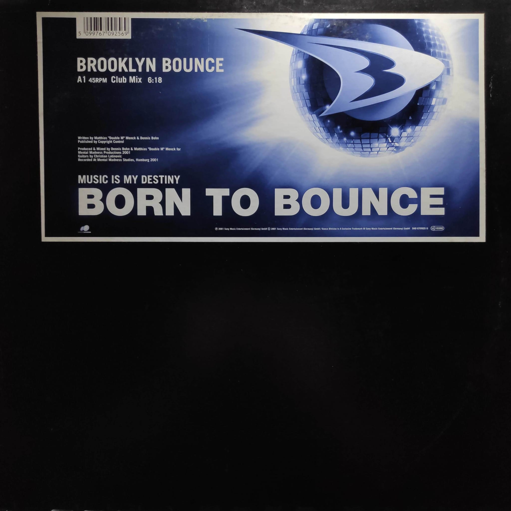 (26758) Brooklyn Bounce – Born To Bounce (Music Is My Destiny)