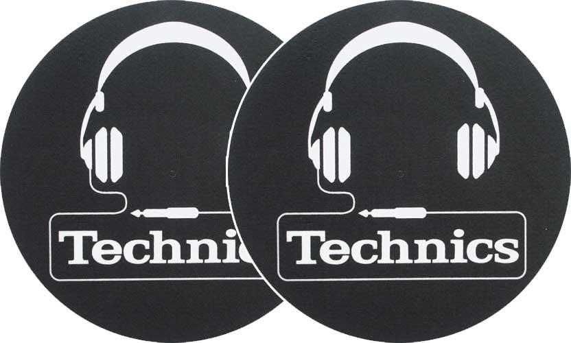 2x Slipmats - Technics Headphones