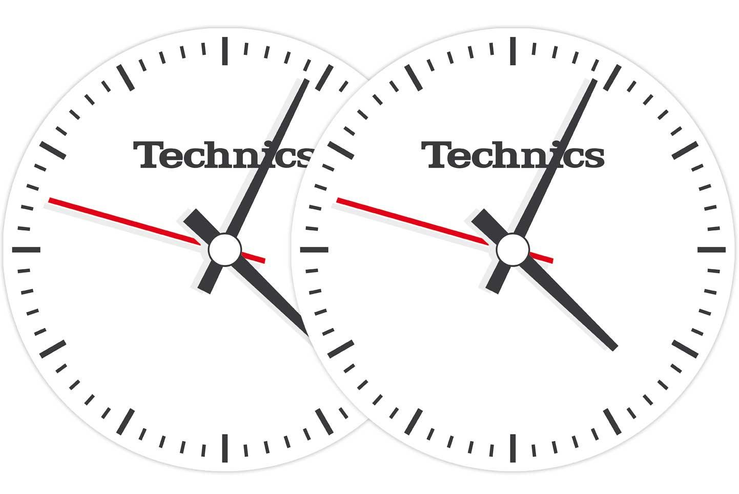 2x Slipmats - Technics Time