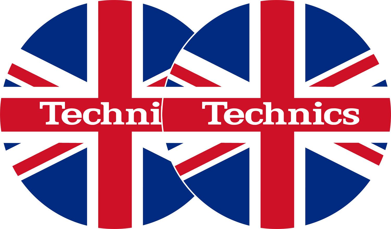 2x Slipmats - Technics UK flag