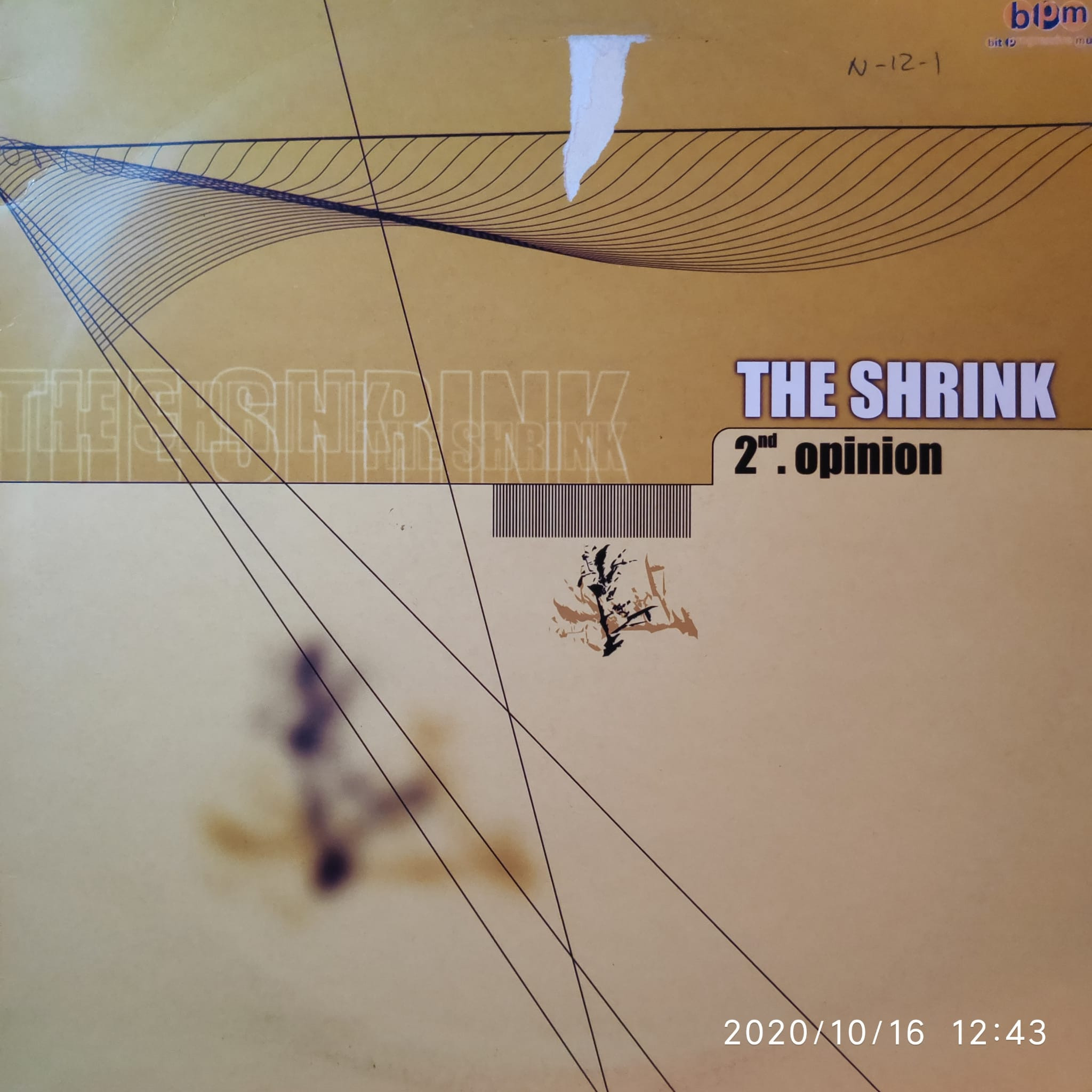 (CM551) The Shrink ‎– 2nd Opinion