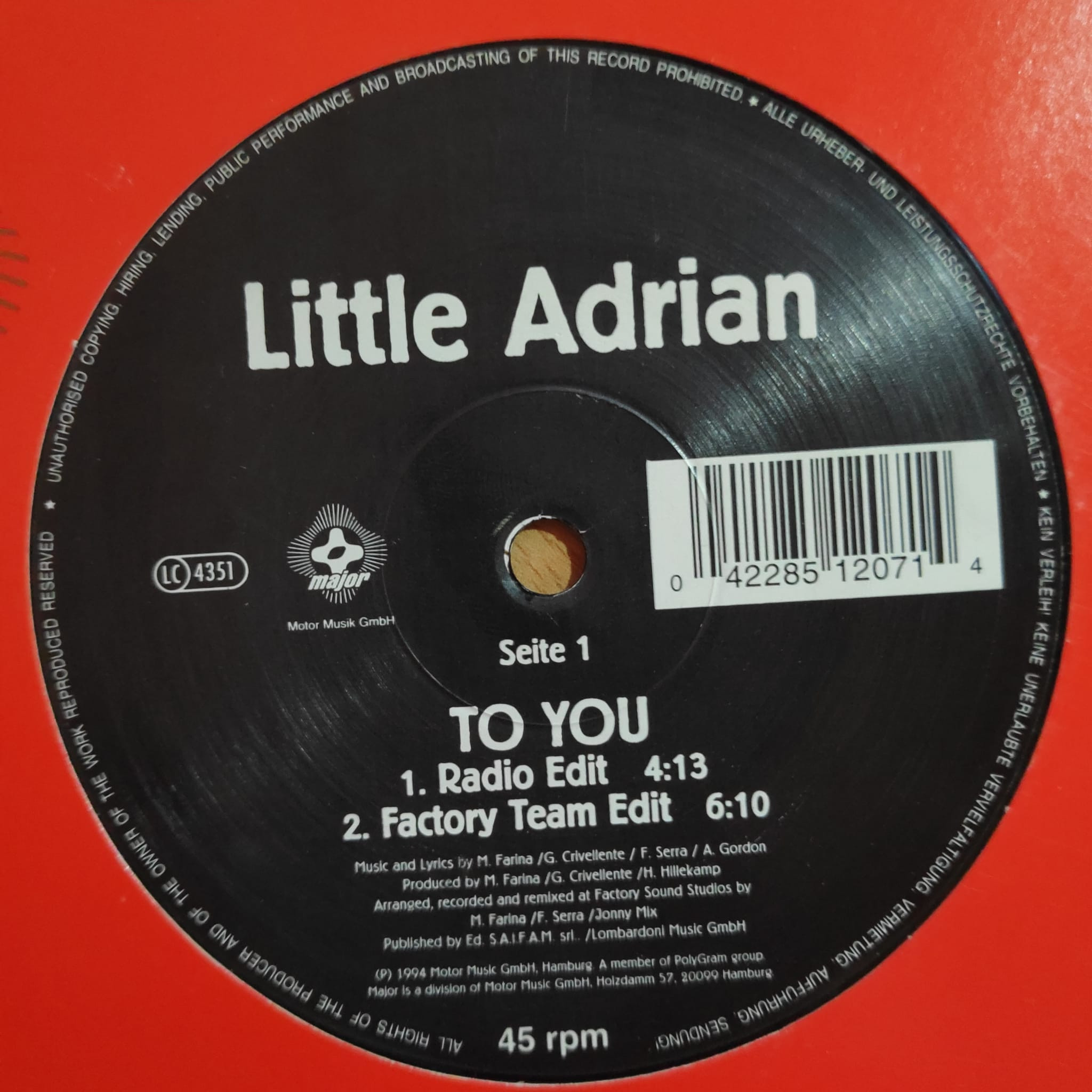 (29971) Little Adrian – To You