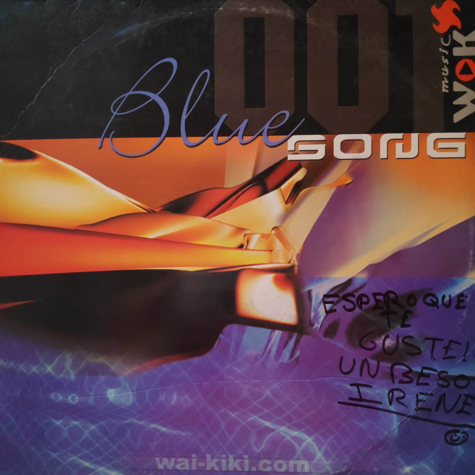 (0729) Blue Song 001 ‎– Welcome To Wai Kiki