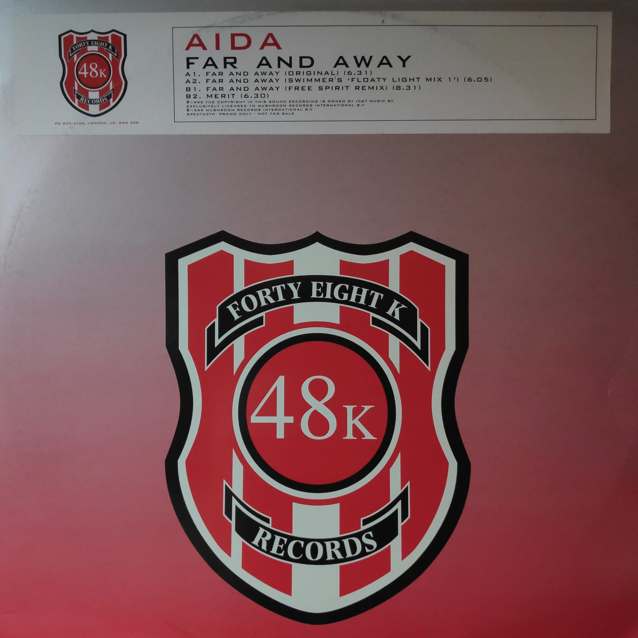 (AA00117C) AIDA – Far And Away