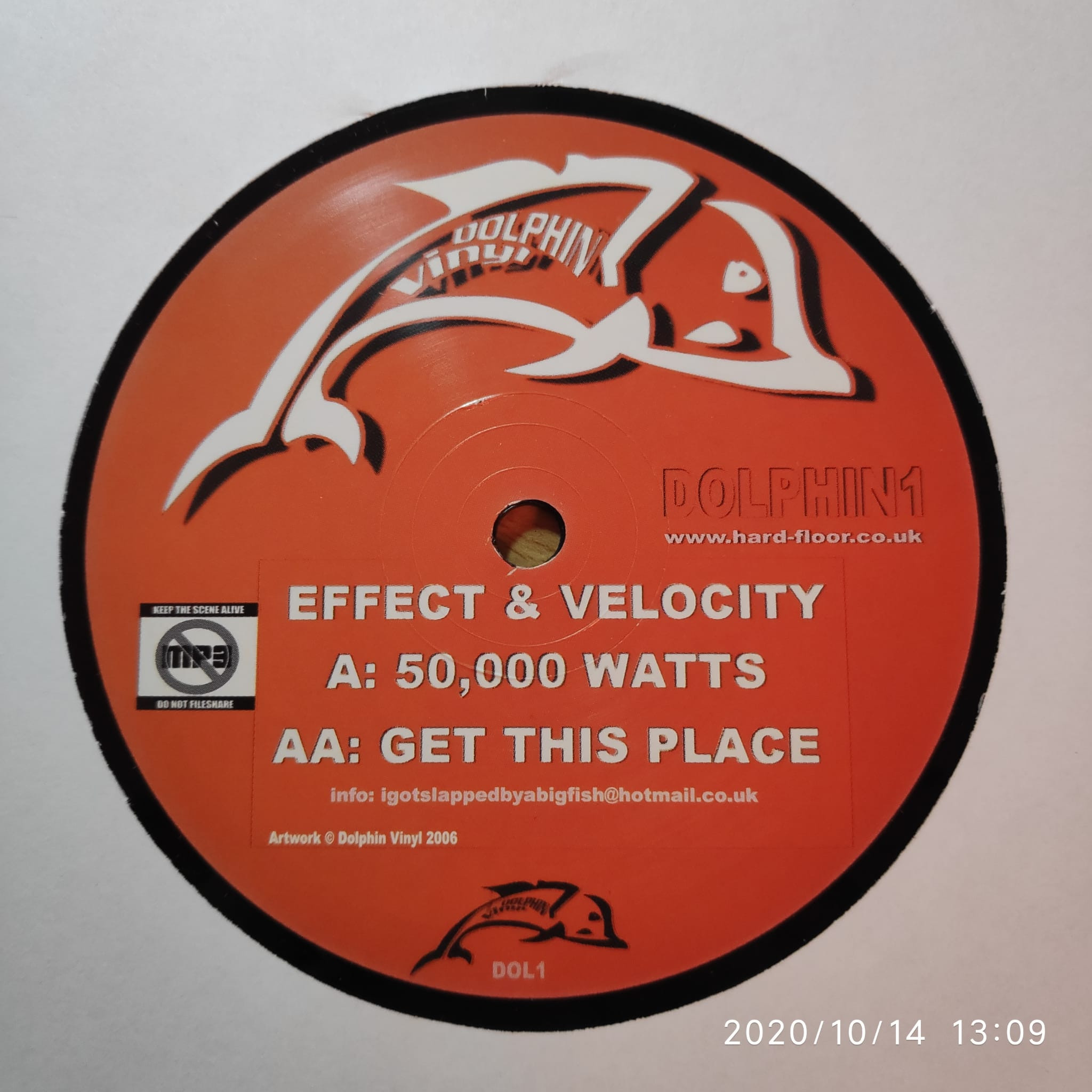 (11659) Effect & Velocity – 50,000 Watts / Get This Place