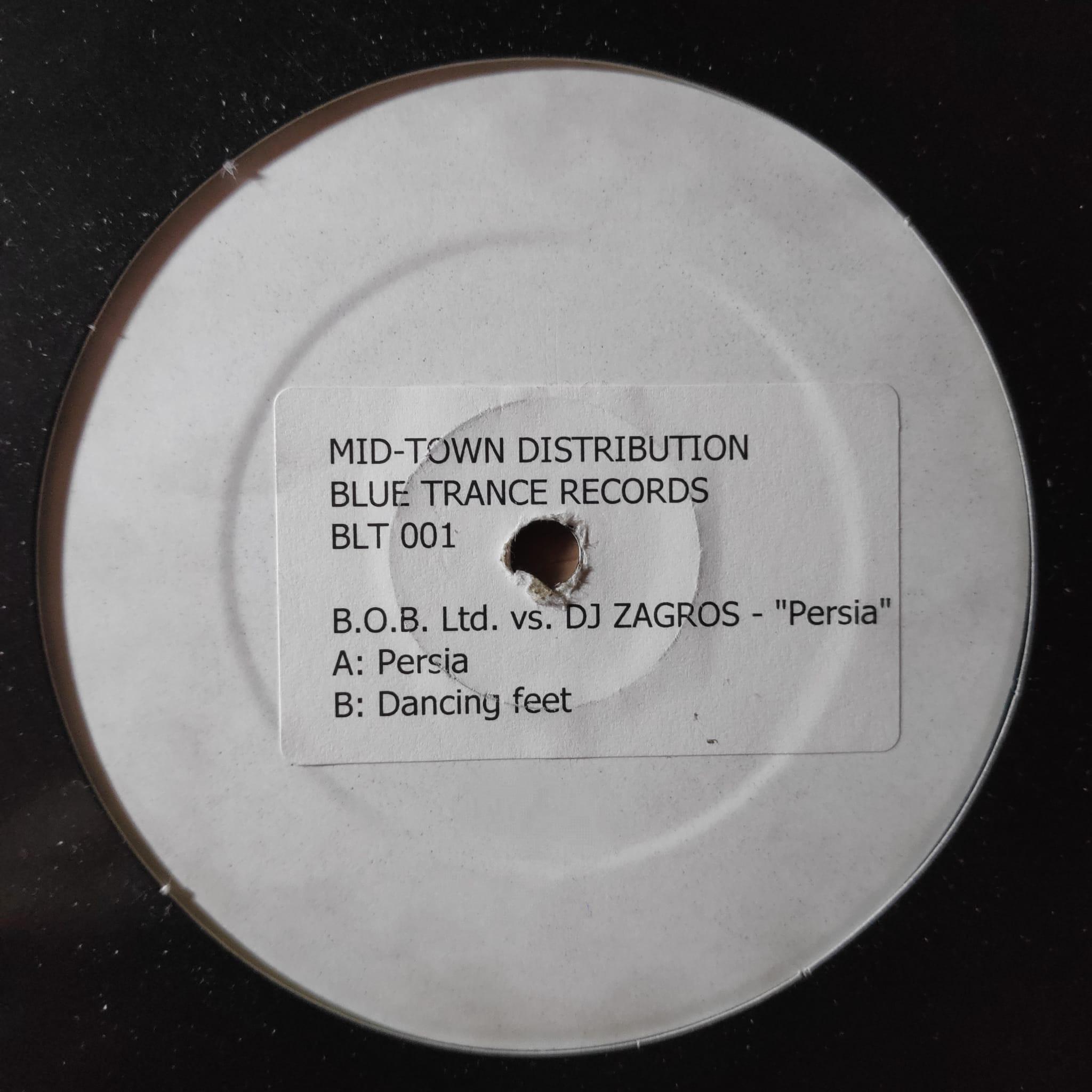 (JR1596) B.O.B. Ltd. vs. DJ Zagros – Persia