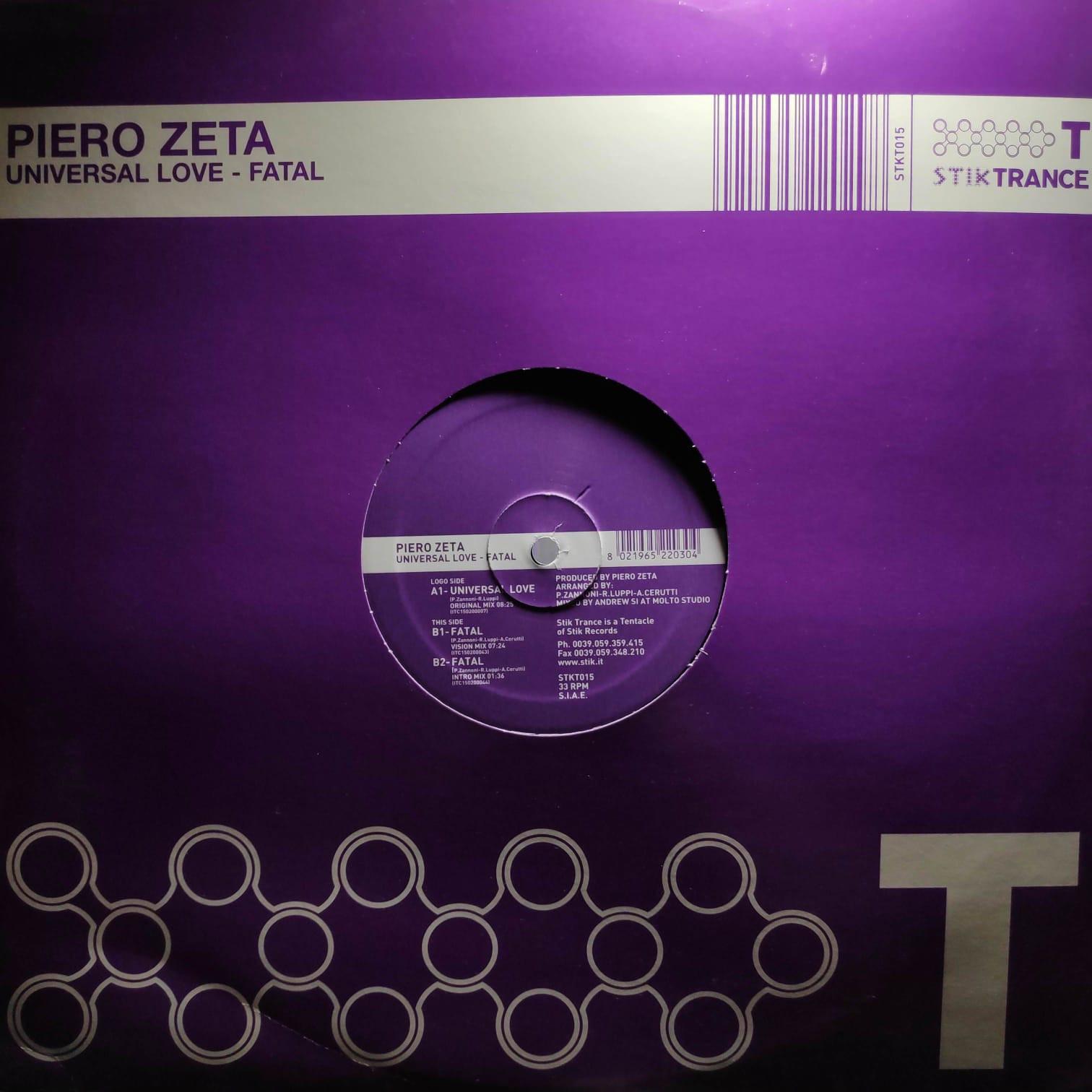 (27307) Piero Zeta – Universal Love