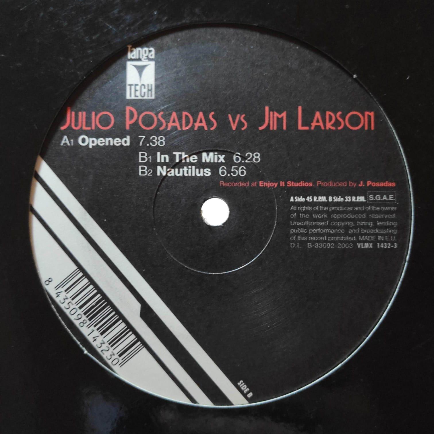 (29363) Julio Posadas Vs Jim Larson – Opened