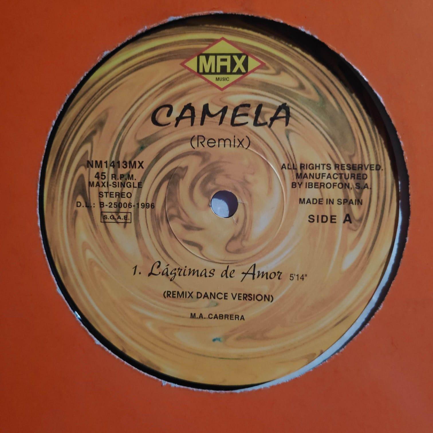 (V0262) Camela – Lagrimas De Amor (Remix)