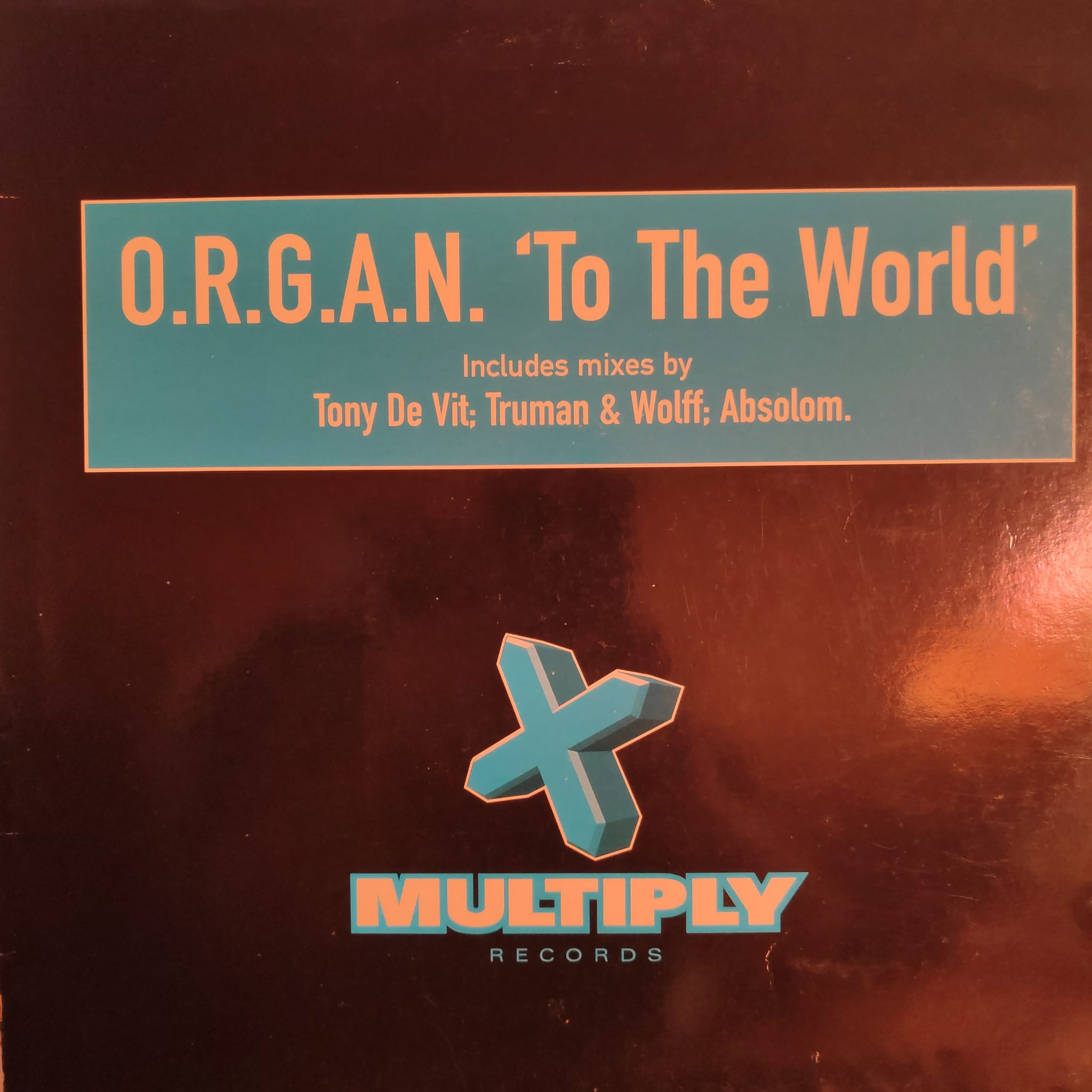 (28317B) O.R.G.A.N. – To The World