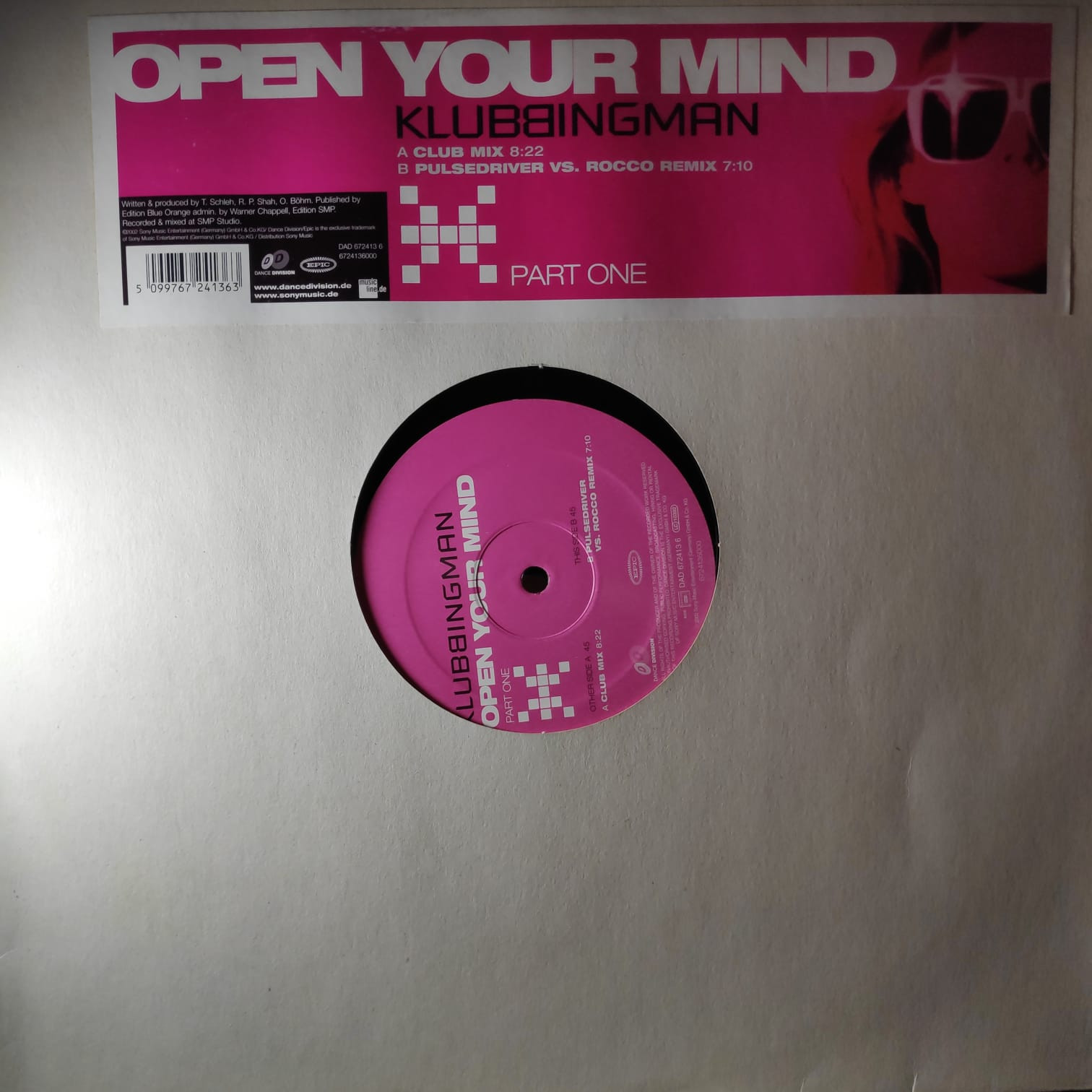 (CUB0985) Klubbingman – Open Your Mind (Part One)