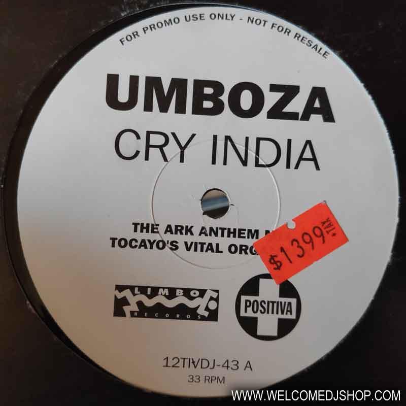(A1259) Umboza – Cry India