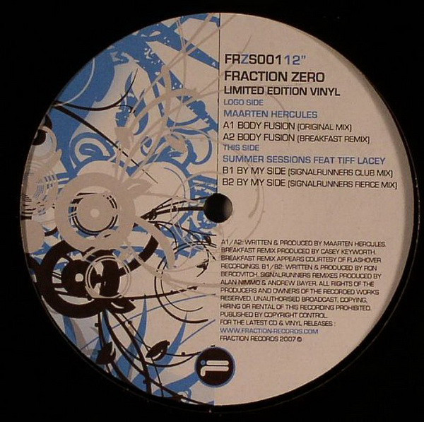 (27340) Fraction Zero Limited Edition Vinyl Sampler