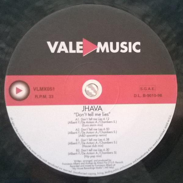 (JR810) Jhava – Don't Tell Me Lies