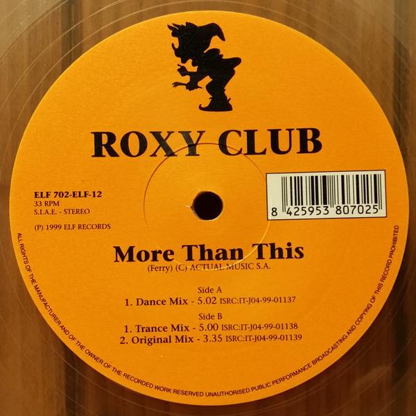 (23459) Roxy Club – More Than This