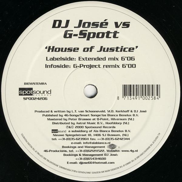 (2072) DJ Jose vs G-Spott – House Of Justice