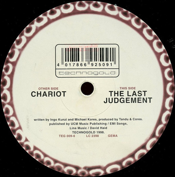 (CUB2272) Tarot ‎– Chariot / The Last Judgement