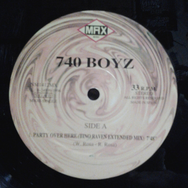(A0309) 740 Boyz – Party Over Here