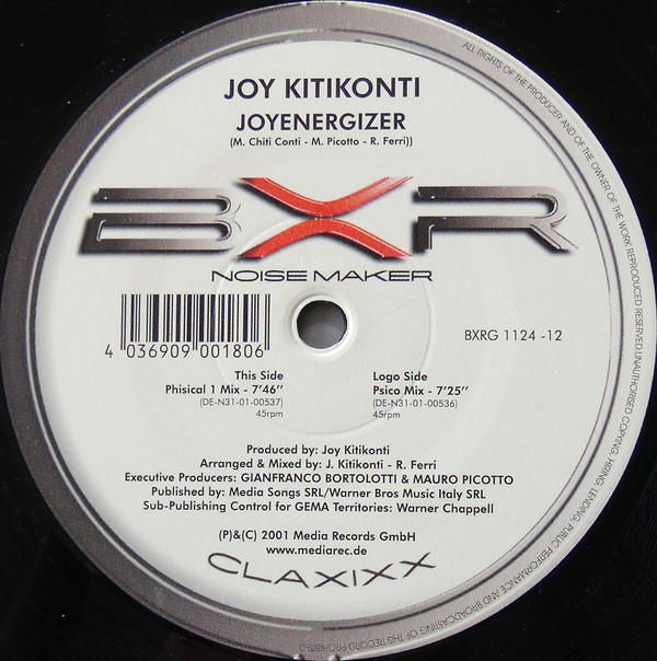 (0035) Joy Kitikonti – Joyenergizer