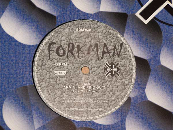 (AA00056) Forkman ‎– Armin (And Find Out) / Bush Booby
