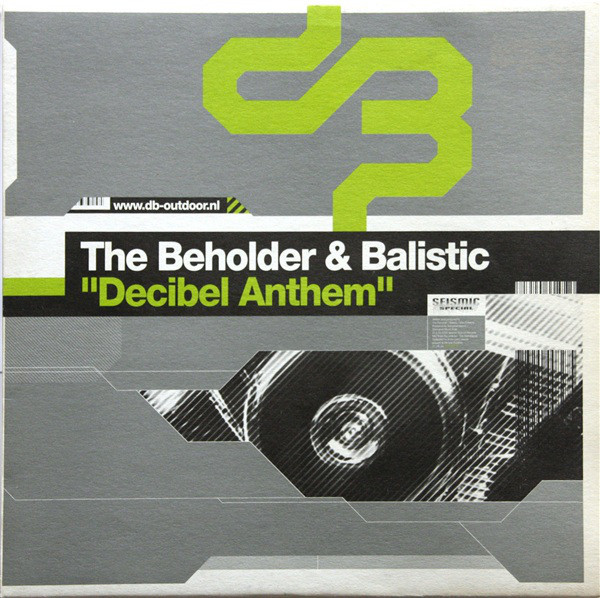 (CUB1476) The Beholder & Balistic – Decibel Anthem (TEMAZO BACHATTA)
