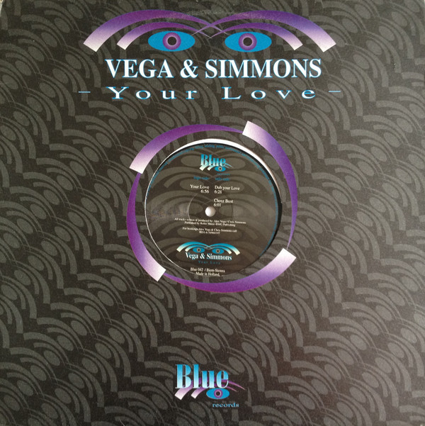 (24651) Vega & Simmons ‎– Your Love
