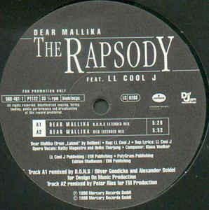 (CMD108) The Rapsody Feat. LL Cool J – Dear Mallika