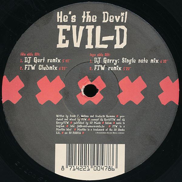 (20810) Evil-D – He's The Devil