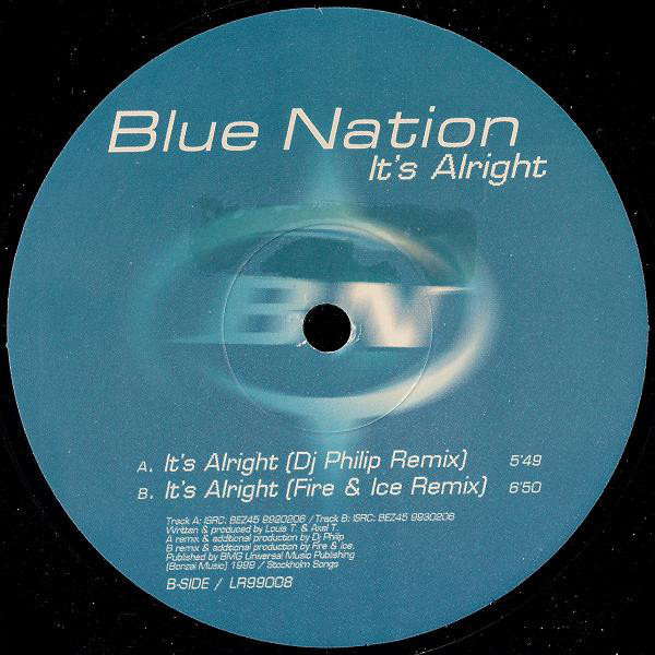 (26953) Blue Nation ‎– It's Alright