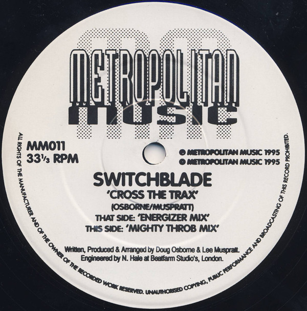 (CM1515) Switchblade ‎– Cross The Trax