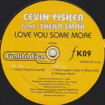 (FR189) Cevin Fisher Feat. Sheila Smith – Love You Some More