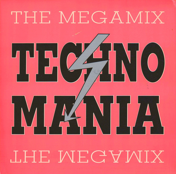 (24872) Techno Mania ‎– The Megamix