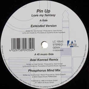 (24800) Pin Up – Love My Fantasy