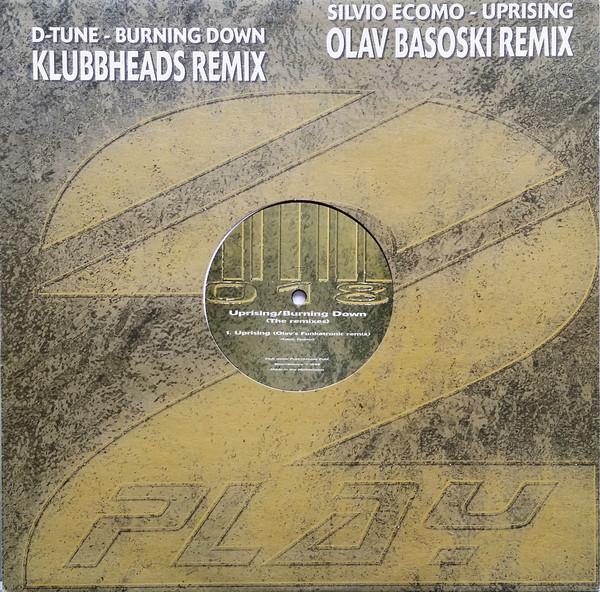 (24622) Silvio Ecomo / D-Tune – Uprising / Burning Down (The Remixes)
