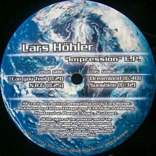 (21820) Lars Höhler – Impression E.P.