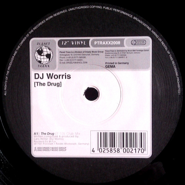 (23899) DJ Worris ‎– The Drug