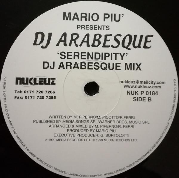 (30904) Mario Piu' Presents DJ Arabesque – Serendipity