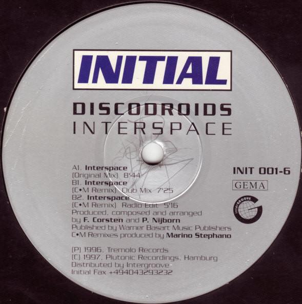 (CUB1119) Discodroids – Interspace