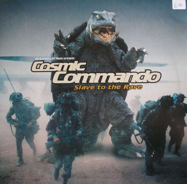 (AA00203) DJ Gollum + DJ Yanny Present: Cosmic Commando – Slave To The Rave
