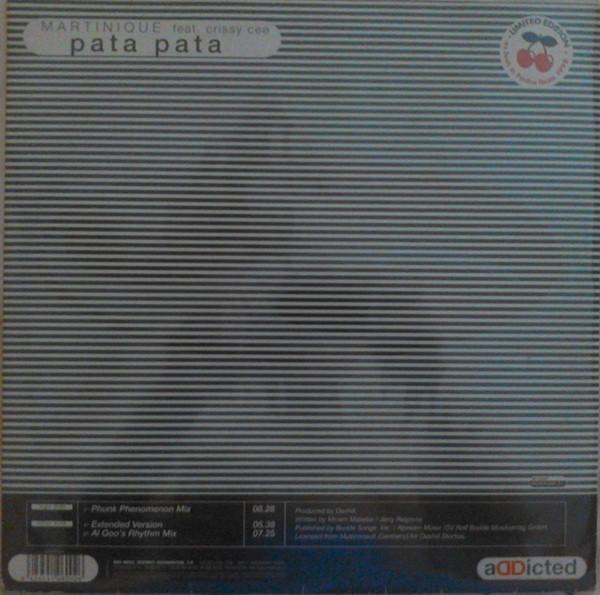 (CUB0212) Martinique Feat Crissy Cee – Pata Pata