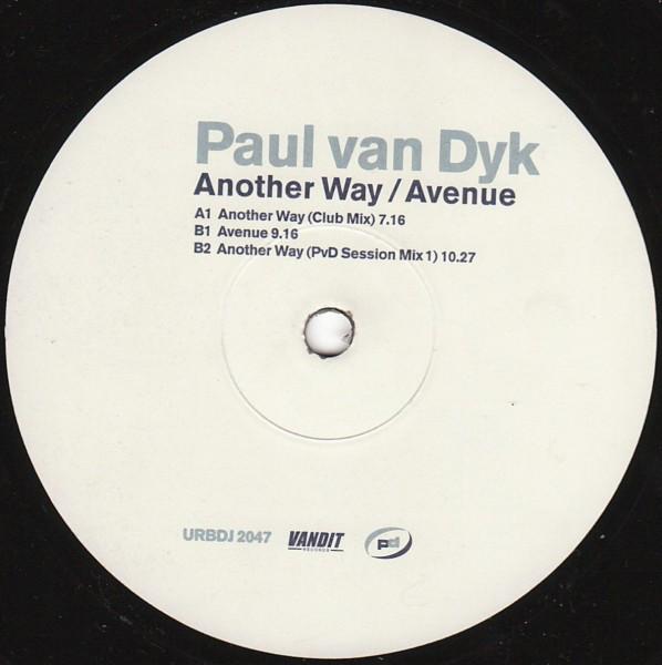 (19157) Paul van Dyk – Another Way / Avenue