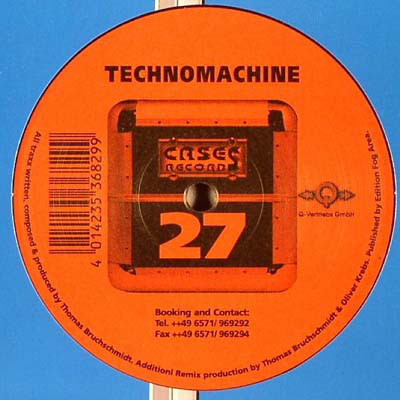 (28536) Technomachine ‎– This Is Trance