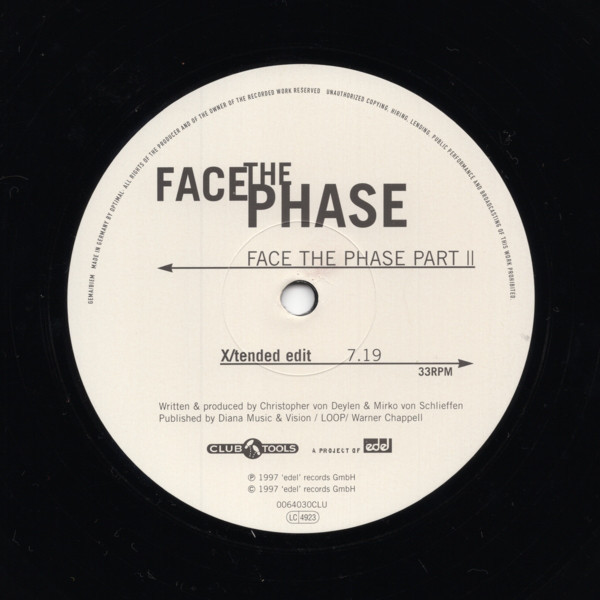(25738B) Face The Phase ‎– Face The Phase Part II