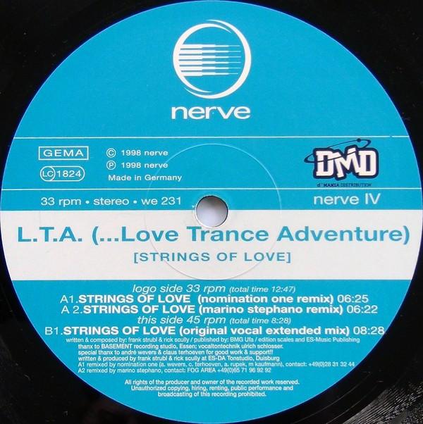 (CUB1117) L.T.A. (...Love Trance Adventure) – Strings Of Love