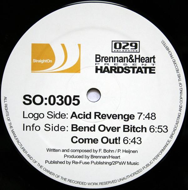 (2429) Brennan & Heart Present Hardstate – Acid Revenge