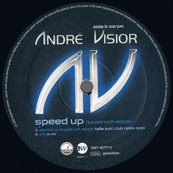 (CM1929) André Visior – Speed Up (Luvstruck 2002)