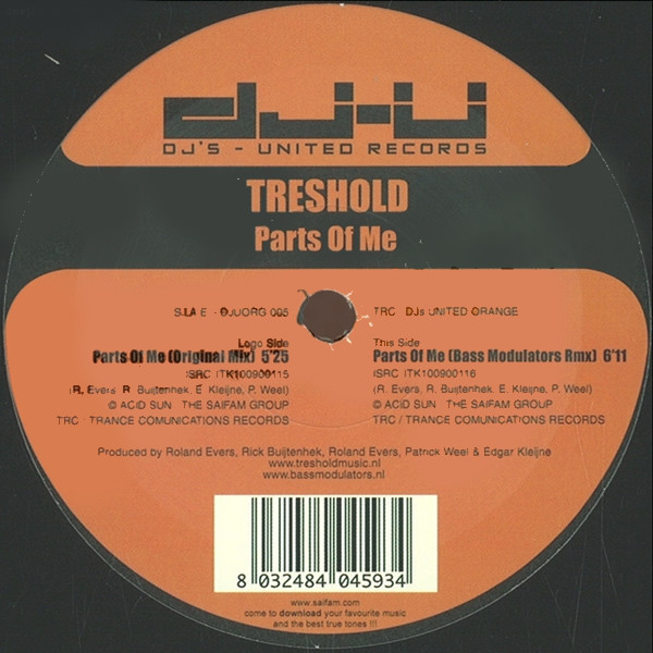 (20317) Treshold – Parts Of Me