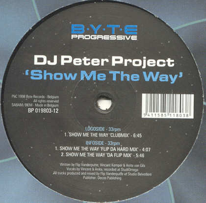 (FR193) DJ Peter Project ‎– Show Me The Way
