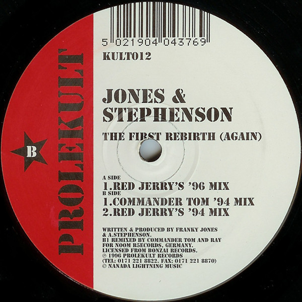 (CM548) Jones & Stephenson – The First Rebirth (Again)