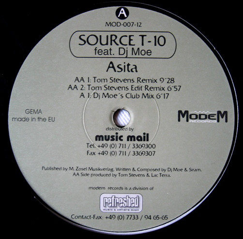 (23536) Source T-10 Feat. DJ Moe – Asita
